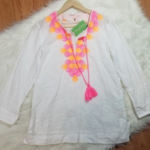 Lilly Pulitzer Amelia Island Tunic Resort White